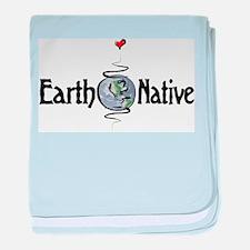 Earth Native baby blanket