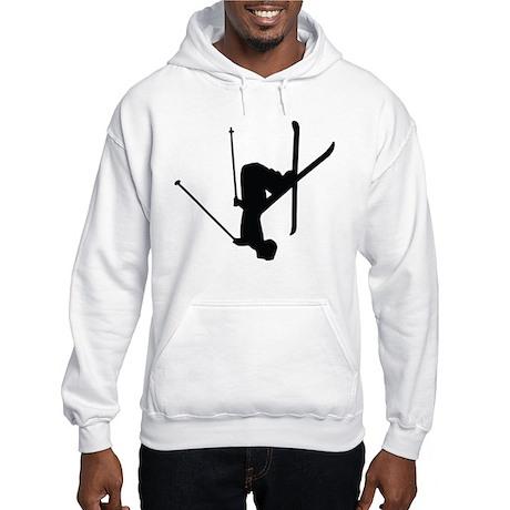 Freestyle Skiing Hooded Sweatshirt