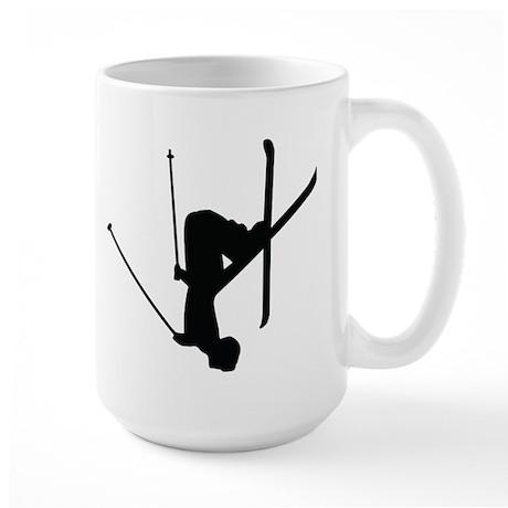Freestyle Skiing Large Mug