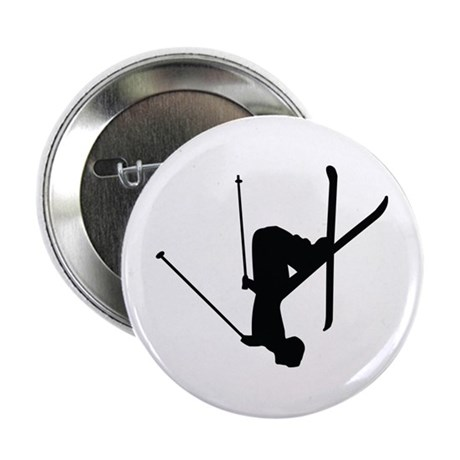 "Freestyle Skiing 2.25"" Button"