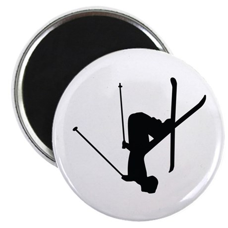 """Freestyle Skiing 2.25"""" Magnet (10 pack)"""