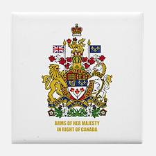 Canadian COA Tile Coaster