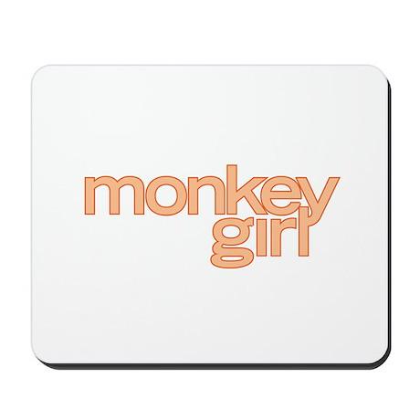 MONKEY GIRL Mousepad