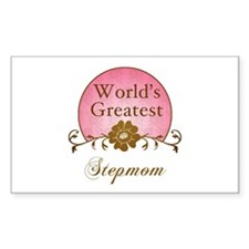 Stylish World's Greatest Stepmom Decal