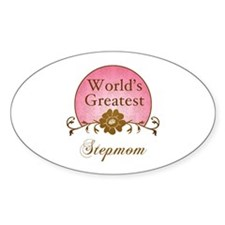 Stylish World's Greatest Stepmom Decal