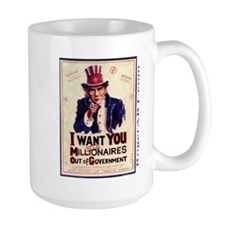 I WANT U $ mill $ OUT Mug