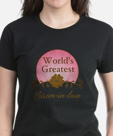 Stylish World's Greatest Sister-In-Law Tee
