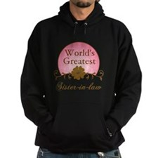 Stylish World's Greatest Sister-In-Law Hoodie