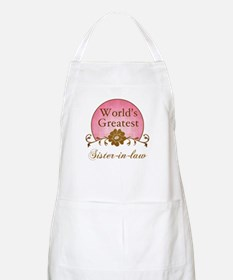 Stylish World's Greatest Sister-In-Law Apron