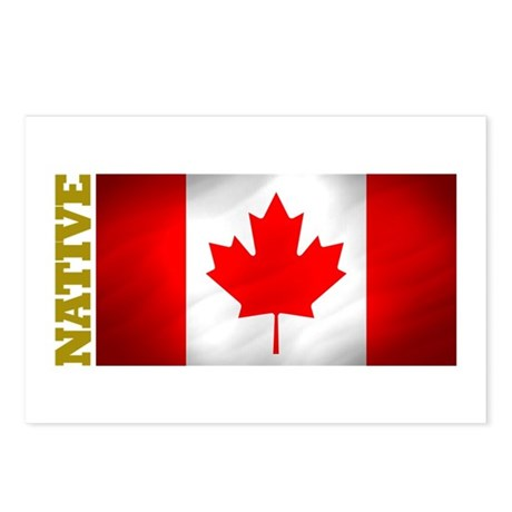 Canada Native Postcards (Package of 8)