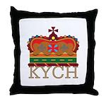 K.Y.C.H. Throw Pillow