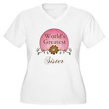 Stylish World's Greatest Sister T-Shirt