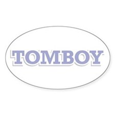 TOMBOY Oval Decal