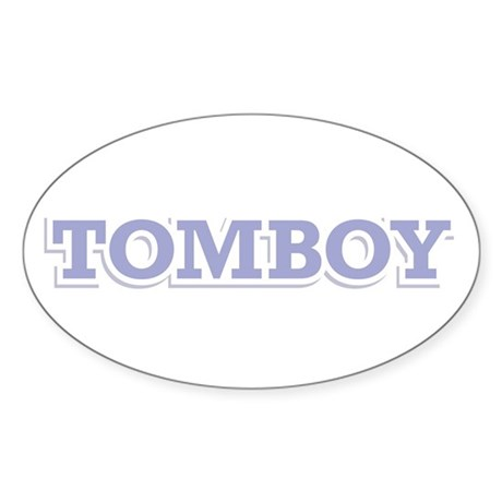 TOMBOY Oval Sticker