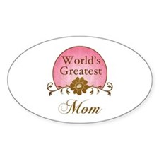Stylish World's Greatest Mom Decal