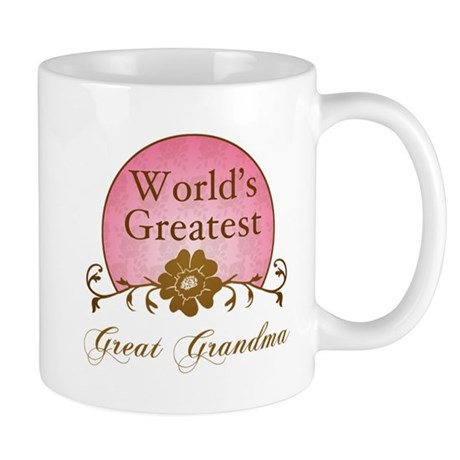 Stylish World's Greatest Great Grandma Mug