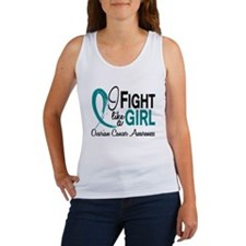 Licensed Fight Like A Girl 10.1 O Women's Tank Top