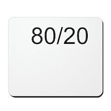 80/20 Rule Mousepad