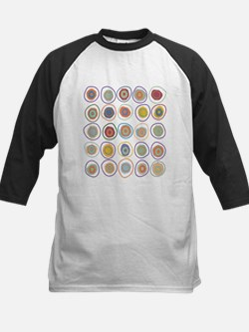 Circles in circles Kids Baseball Jersey