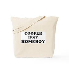 Cooper Is My Homeboy Tote Bag