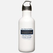 One Yard of Fabric Water Bottle