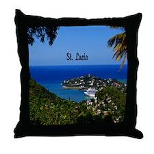 St. Lucia Throw Pillow