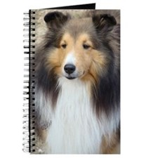 Cute Shetland sheepdog Journal