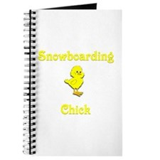 Snowboarding Chick Journal