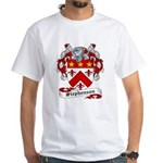 Stephenson Coat of Arms White T-Shirt