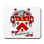 Stephenson Coat of Arms Mousepad