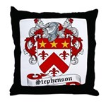 Stephenson Coat of Arms Throw Pillow