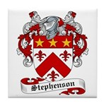 Stephenson Coat of Arms Tile Coaster
