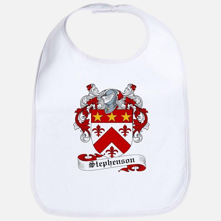 Stephenson Coat of Arms Bib