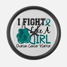 Licensed Fight Like A Girl 15.2 O Large Wall Clock