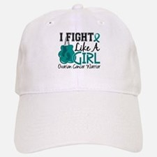 Licensed Fight Like A Girl 15.2 Ovarian Cancer Baseball Baseball Cap