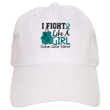 Licensed Fight Like A Girl 15.2 Ovarian Cancer Baseball Cap