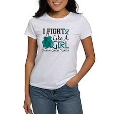 Licensed Fight Like A Girl 15.2 Ov Tee