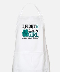 Licensed Fight Like A Girl 15.2 Ovarian Canc Apron