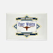 Fort Worth Flag Rectangle Magnet