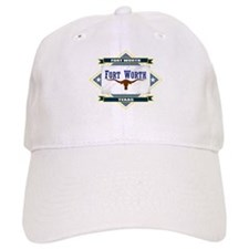 Fort Worth Flag Baseball Cap