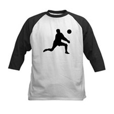 Volleyball Dig Silhouette Tee