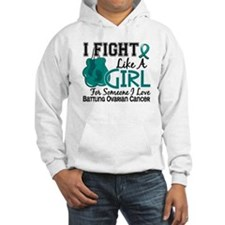 Licensed Fight Like A Girl 15.6 Hoodie