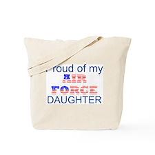 Air Force Daughter Tote Bag