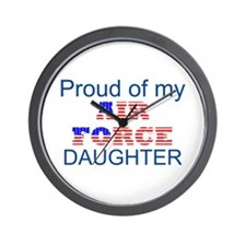 Air Force Daughter Wall Clock