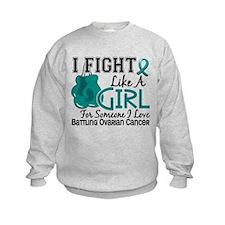 Licensed Fight Like A Girl 15.6 Ov Sweatshirt