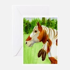 """""""Apache Horse"""" Card (1) Greeting Cards"""