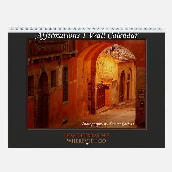 Affirmations 1 Wall Calendar