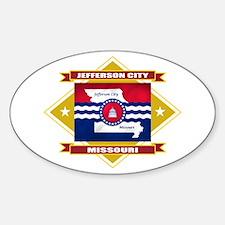 Jefferson City Flag Decal