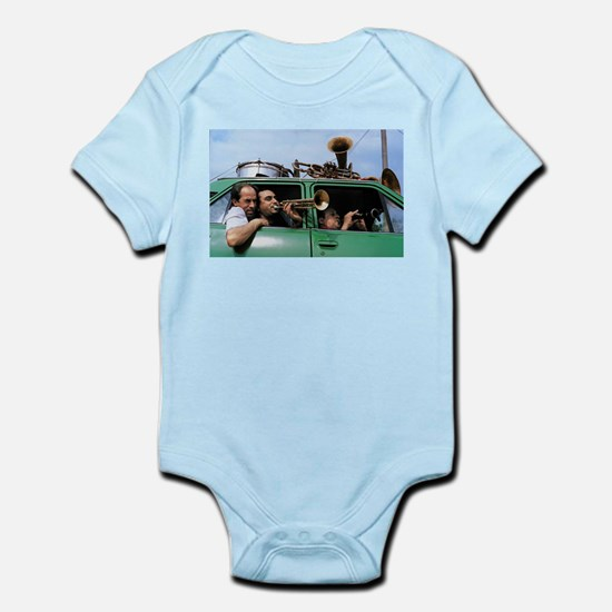 Traveling Band Infant Bodysuit