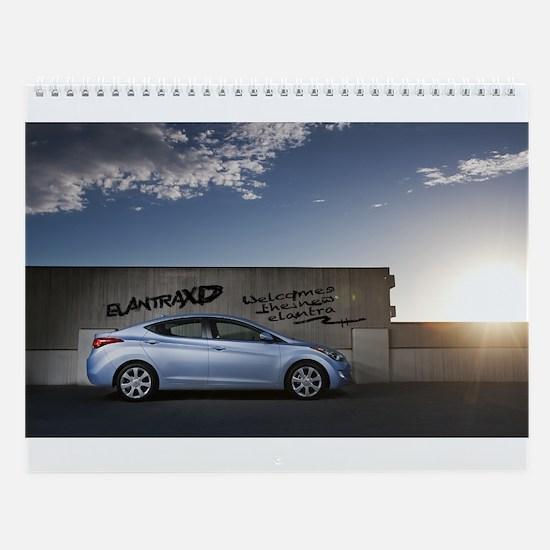 ElantraXD Wall Calendar